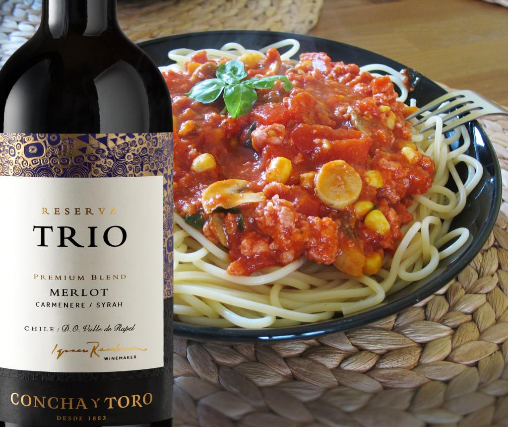 Merlot comida italia