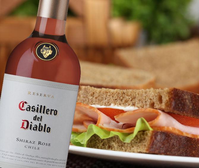 picnic sandwich jamón