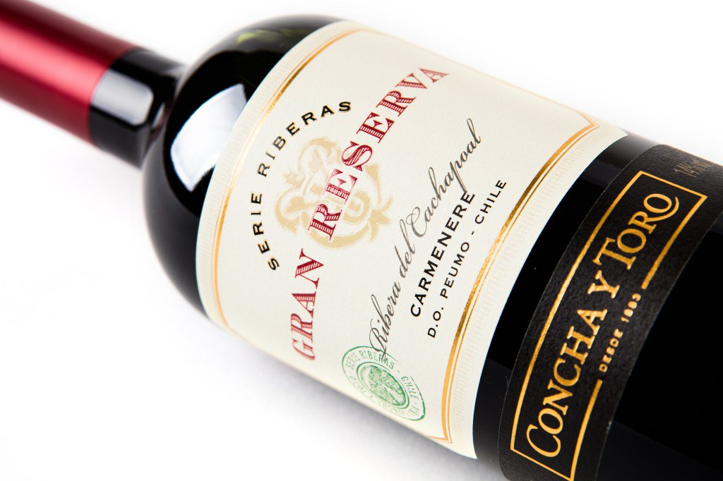 Outstanding 90 points for Gran Reserva Serie Riberas Carmenere