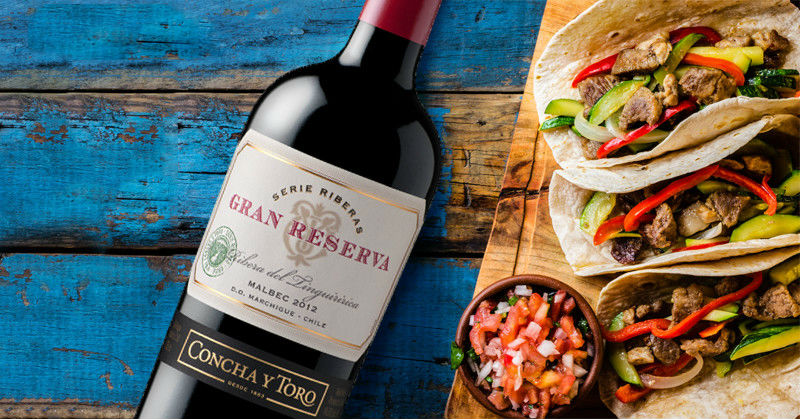Cómo combinar vino y comida mexicana
