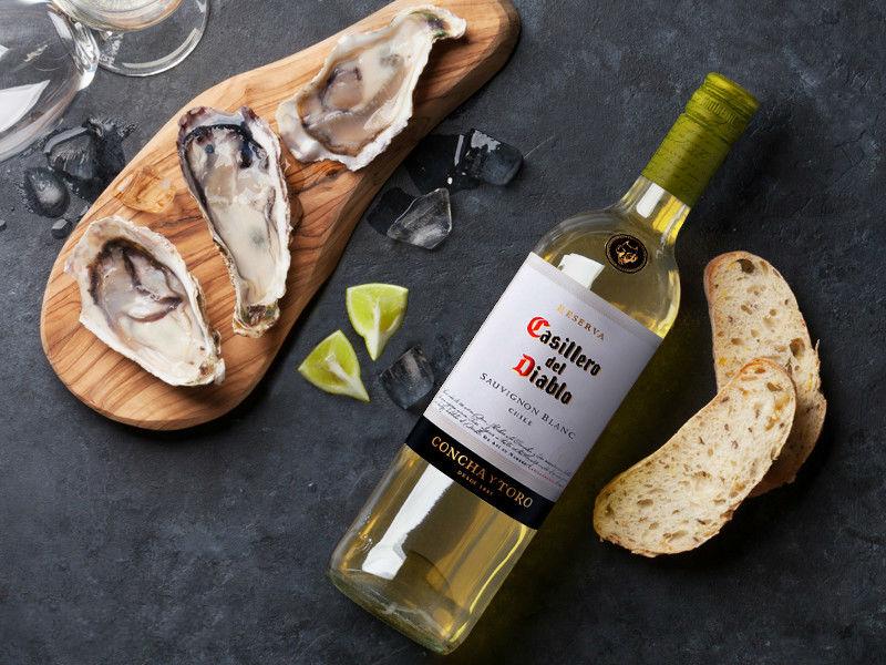 Ostras Casillero Sauvignon Blanc