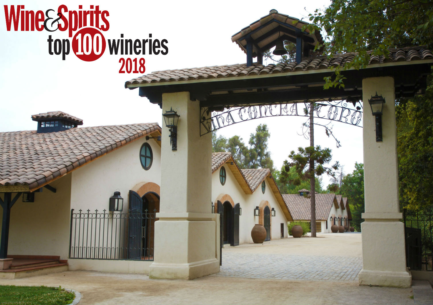 Concha y Toro once again recognized by Wine and Spirits as one of the World's Top 100 Wineries