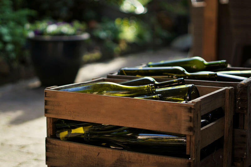 Glass Recycling: what to do with empty wine bottles