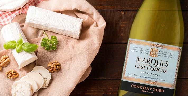 Queso de cabra Marques Chardonnay