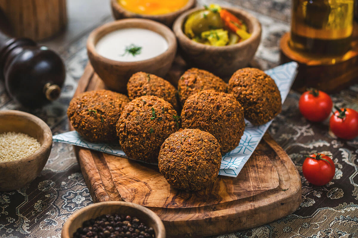 Cocina Arabe – Falafels