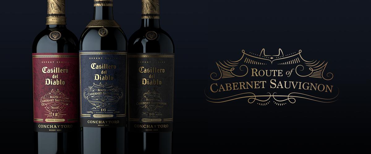 Casillero del Diablo Route of Cabernet Sauvignon reconhecido como o melhor lançamento pela Drinks International