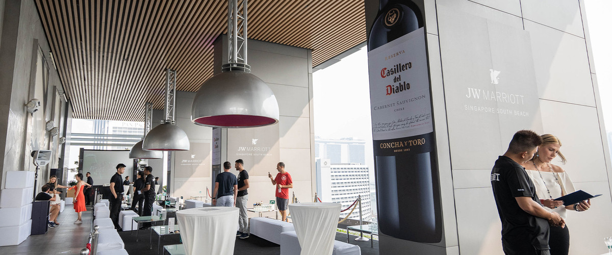 Casillero del Diablo Present at Singapore Race Weekend