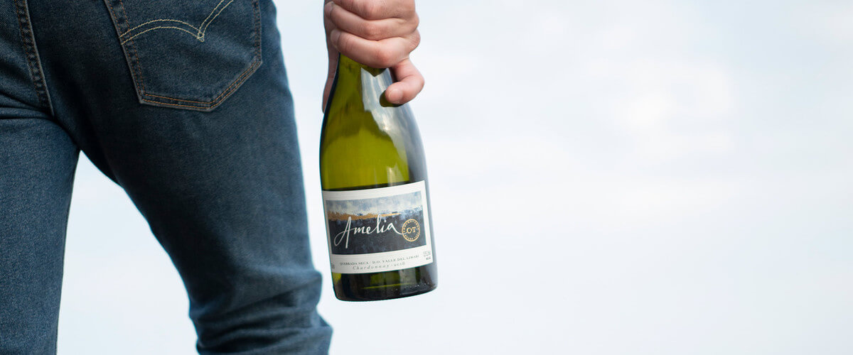 Vinous recognizes Amelia Chardonnay as one of the best white wines from Chile