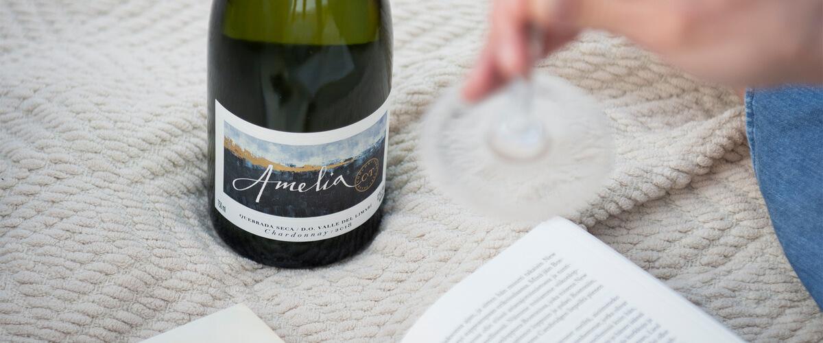 Amelia Chardonnay 2018 el mejor Chardonnay de Chile